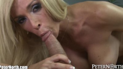 Horny MILF prefers Blowing to Working