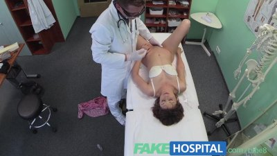 FakeHospital Doctor works his skills to remove sex toy from a tight pussy