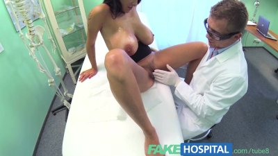 FakeHospital Doctors turn to get his hands full and his cock deep