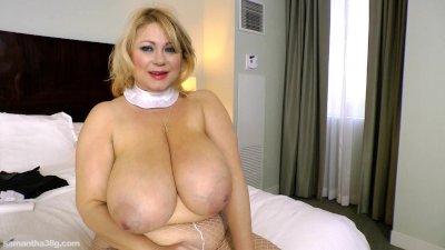 Slutty BBW Legend Dresses Up as Nun N Fucks Herself with Toy