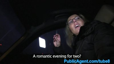 PublicAgent Hitch hiker fucked and creampied in a car