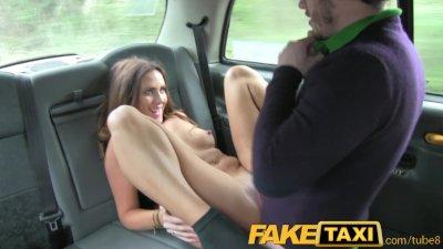 FakeTaxi Couple fuck in back o