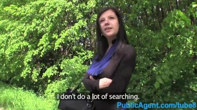 PublicAgent Sex in the bushes in public in a place