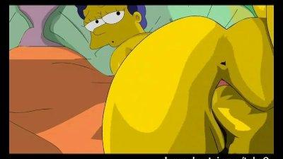 Simpsons Hentai - Homer fucks Marge