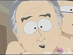 South Park Hentai   Richard and Mrs Garrison