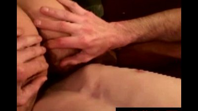 Dirty biker redneck in anal play with truck driver