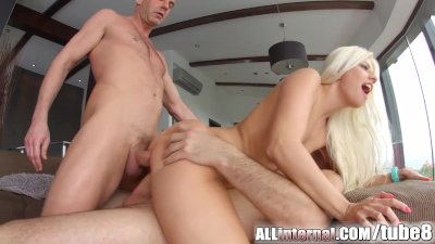 All Internal Double anal creampie for french pornslut