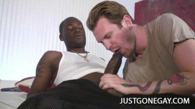 Luke Cross and Tyrese: Interracial Gay Sex
