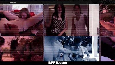 BFFS - Naked Teens Fuck Construction Worker