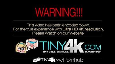 4K Tiny4K - Tiny Dakota Skye is fucked by huge cock
