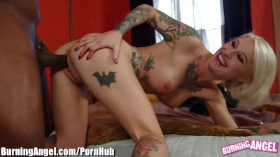 BurningAngel Kleio on Lex Steele's Massive Cock