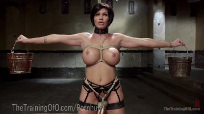 Slave MILF With Huge Tits
