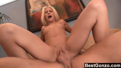 Jizz Swallowing Whore Gets Fucked Hard