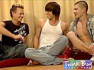 TwinkBoy Media Three horny gay friends