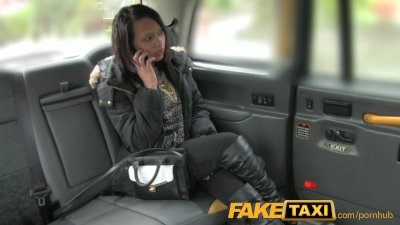 FakeTaxi Local girl sucks and
