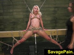 FetishNetwork Marsha May loves rope bdsm with Kylie Rogue