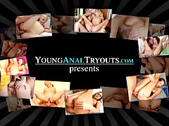 Young Anal Tryouts   You re simply going to love Sandra s anal tryout