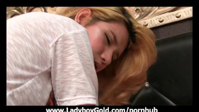 Ladyboy Lisha Ass To Mouth Barebacking