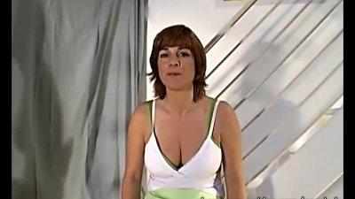 Callista Deepthroats Her First Big Dick