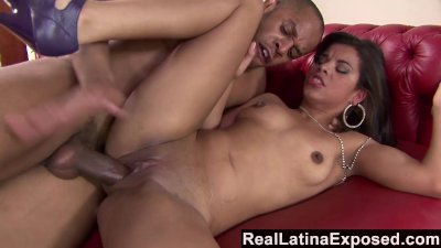 ReallatinaExposed latina Babe Receives A Monster Cock In The Ass