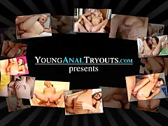 Young Anal Tryouts   Claire is a young and sexy brown haired beauty