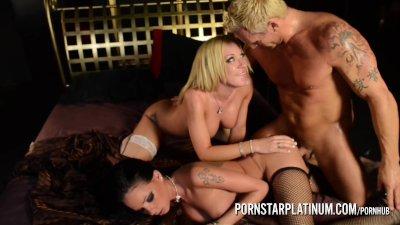 PornstarPlatinum – Amy Brooke and Raven Bay threesome