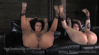 Penny Barber and Mollie Rose Bound Exposed and Flogged
