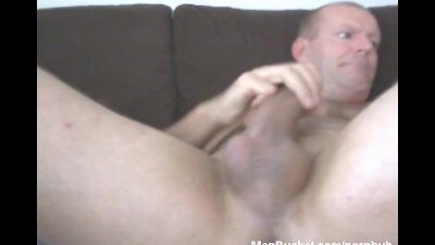 Mature amateur dudes jerking themselves on camera