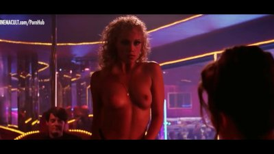 Gina Gershon and Elizabeth Barkley nude scene from Showgirls