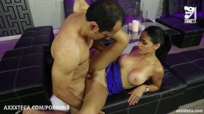 The last mexican fucks horny cuban brunette with big ass