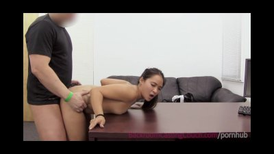 Casting Petite Tattoo video: Tiny Asian Awesome Ass Fuck & Anal Creampie