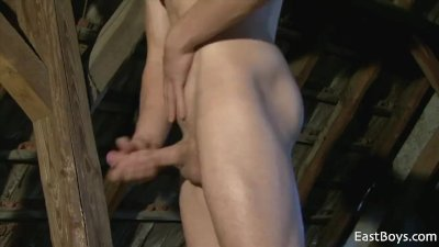 Sexy Workout And Jerking Off