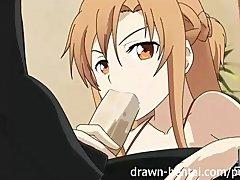 Sword Art Hentai   Asuna play mode