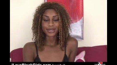 I Love Black Girls - Honie Masturbates with 2 toys