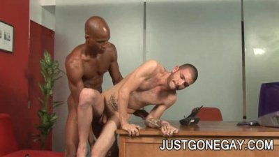 Tristan Mathews and Billy Long: Charming Black And White Ass Penetration
