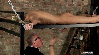 Draining A Slave Boys Cock