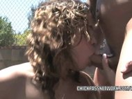 Latina hottie Chavon Taylor is swallowing some dick
