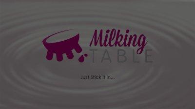 Milking Table Cute Ebony Masseuses Glory Hole Treatment