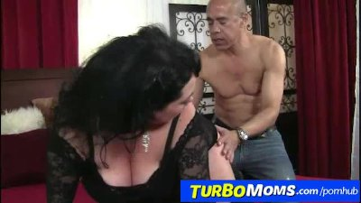Fat big natural tits lady Amanda big dick sex