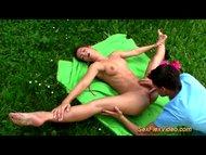 outdoor sex gymnastik