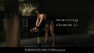 Submissive Grace whipped and fucked by Master's wish