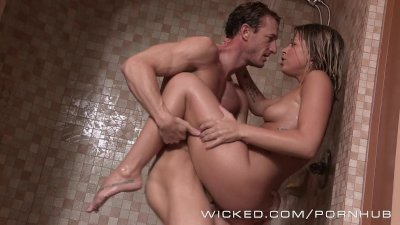 Wicked - Hot shower sex with Zoe Monroe
