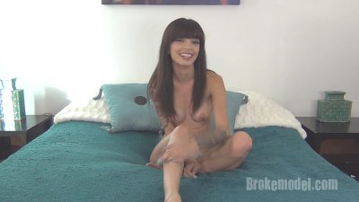 Ashley Doll - XXX cam whore gets interviewed for the first time