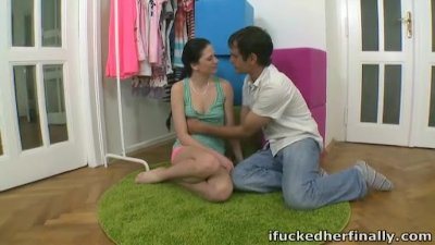 I Fucked Her Finally - Tonya is now ready to let her boyfriend fuck her