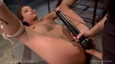 Ebony Slut Begs To Be Dominated