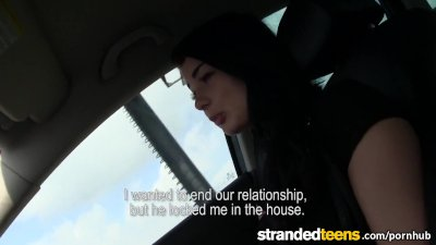 Stranded Teens - Anna gets a little help from a stranger