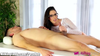 MilkingTable Big Tits Dava Foxx Blowjob Therapy
