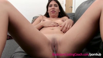 Mexican Teen Anal and Cum Swal