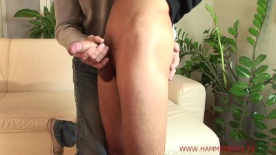 Nasty straight guy Honza Sykora gets handjob from Hammerboys TV
