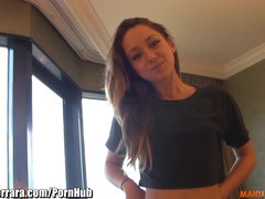 ManuelFerrara Sexy Remy Lacroix gets French lessons from Manuel!